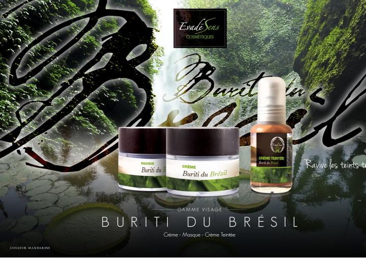 Au mois de Mars direction le pays des Cariocas avec la gamme Buriti du Brésil d'Evadesens....