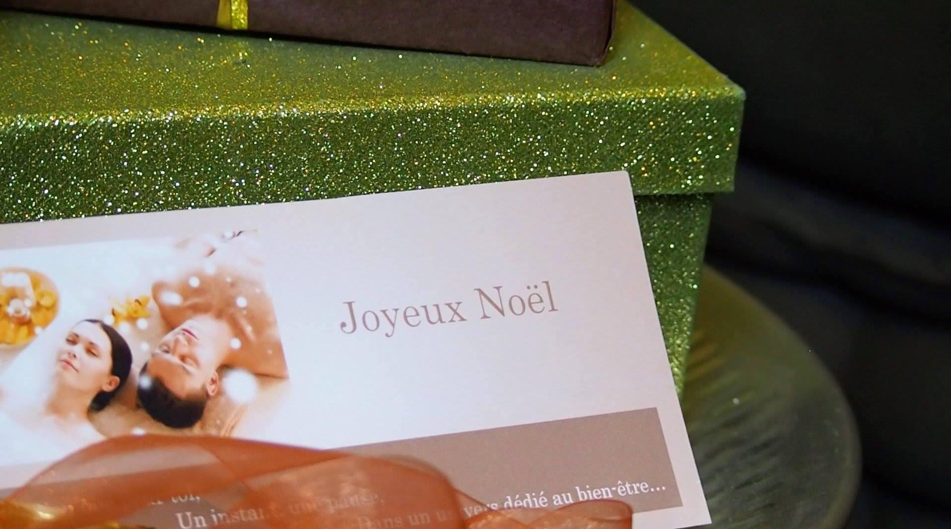 En avant première, voici nos bons cadeaux pour les fêtes de fin d'année....