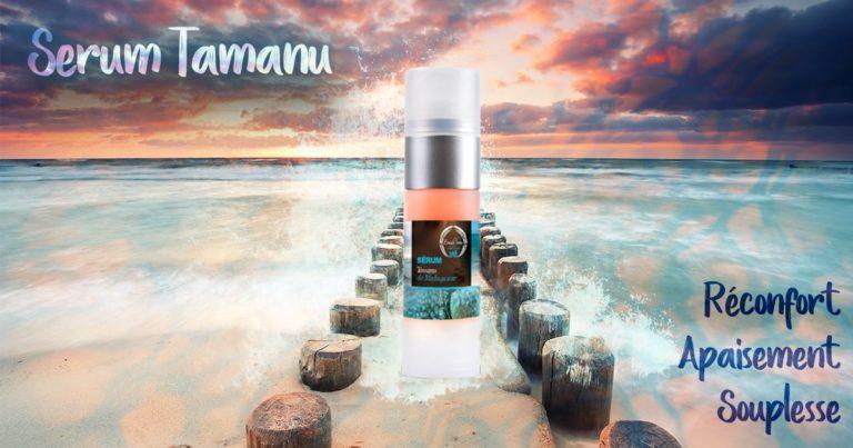 Grâce au Sérum Tamanu, application après application, la peau est réconfortée, apaisée, et retrouve ...