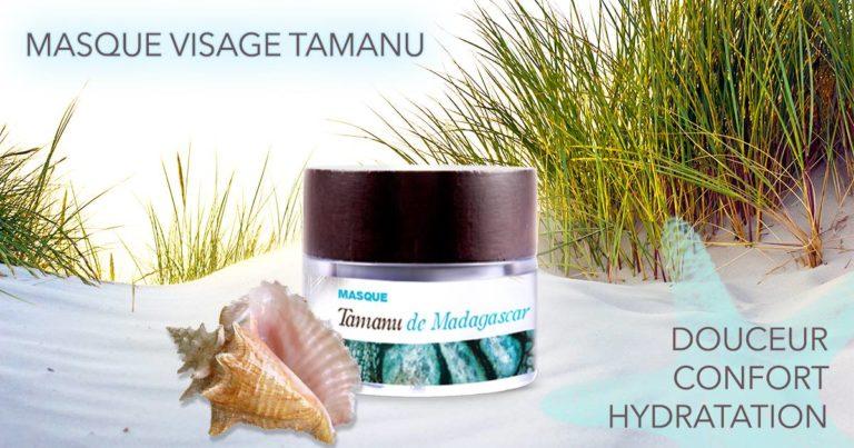 Le masque Tamnu est apaisant et reminéralisant. Concentré en huile de Tamanu, lait de coco et hydrol...