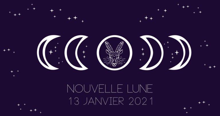 Nouvelle Lune du 13 Janvier 2021 en Capricorne...