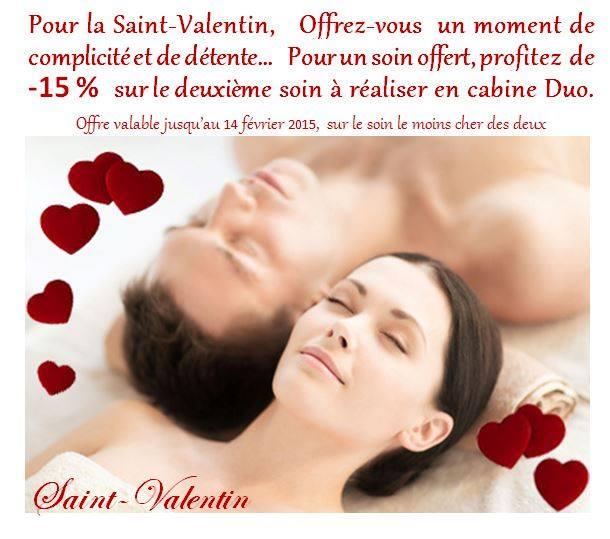 Offre spéciale Saint-Valentin...