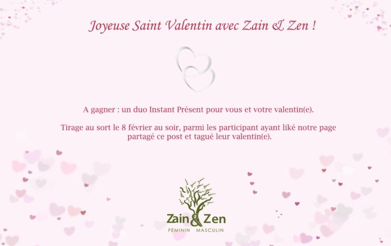 Plus qu'une semaine pour participer à notre jeu concours de la Saint Valentin !!