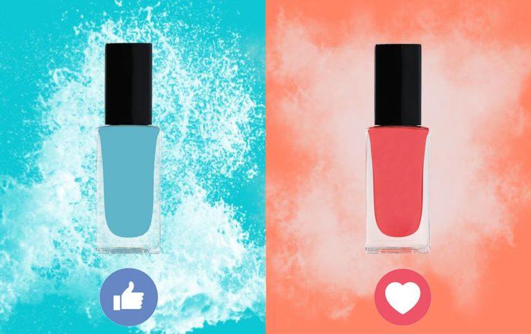 Plutôt Corail ou Bleu Ciel ? Quelle est votre couleur de l'été ?   pour bleu,  pour corail....
