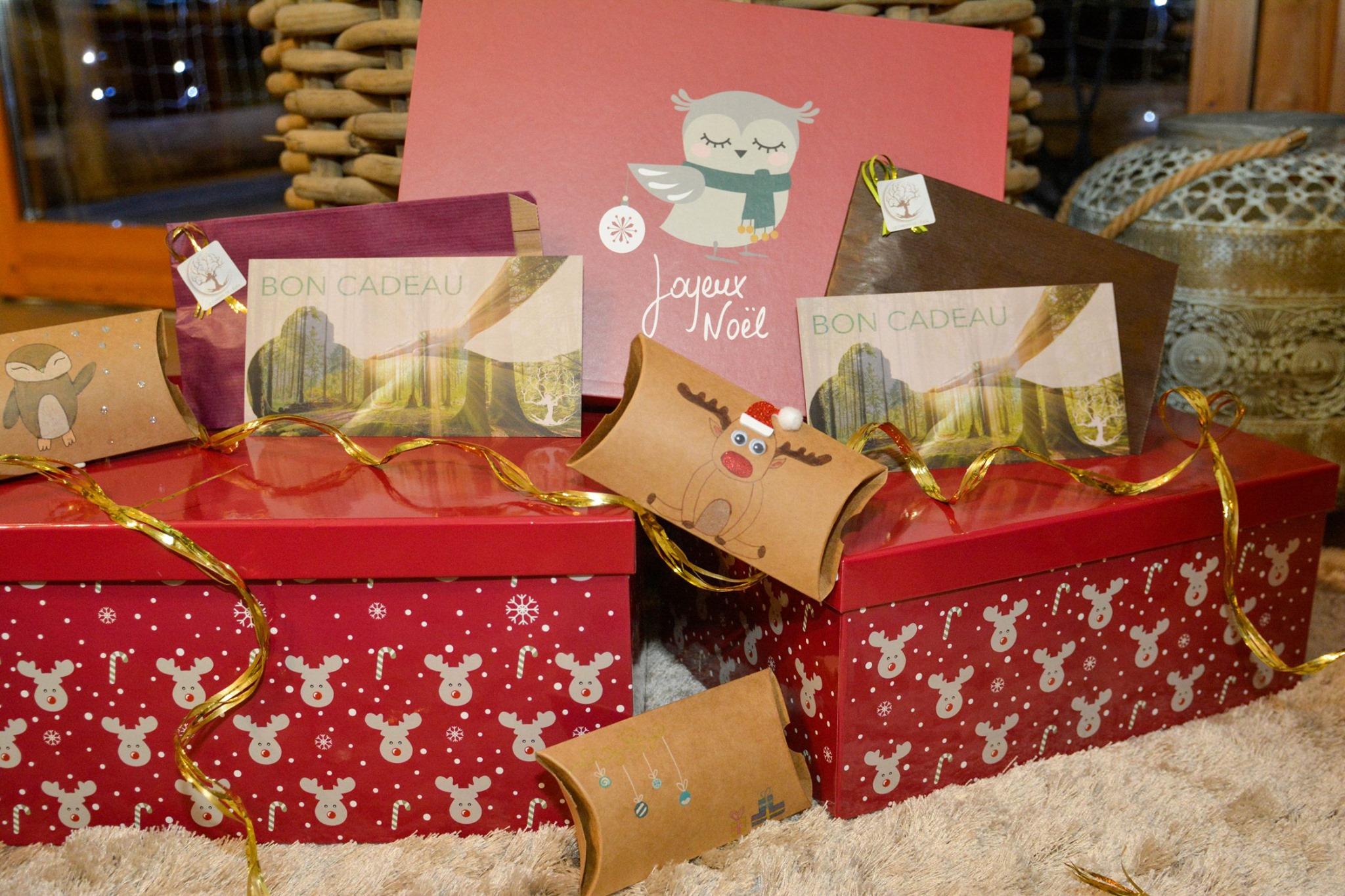 Pour Noël offrez le bien-être en cadeau !  Grâce à nos bons cadeau, faire plaisir n'aura jamais été ...