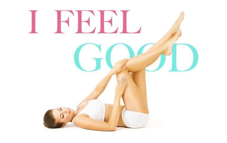Pour des jambes légères cet été, testez notre massage I Feel Good....